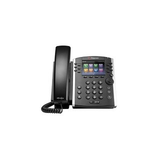 Refurbished Polycom VVX 410 (2200-46162-025) 12-line Mid-Range Business Media Phone