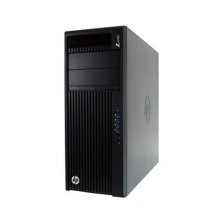 HP Z440 Intel Xeon E5-1620 V3 3.5GHz 32GB RAM 256GB SSD DVD-RW Win 10 Pro Workstation PC (Refurbished)