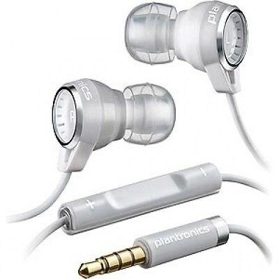 Plantronics Backbeat 216 Stereo Headphones with Mic (White) - BBT216-WHT