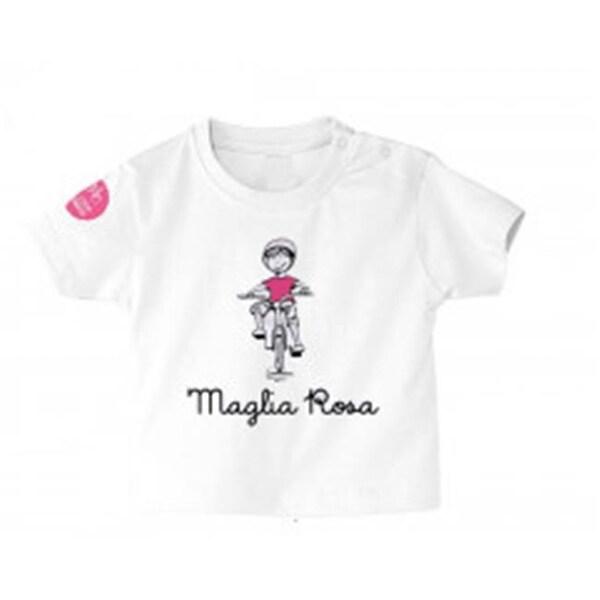 Giro Italia MGLROSA36 Baby T-Shirt, Maglia Rosa - 3-6 Months