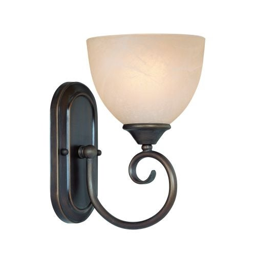 Jeremiah Lighting 25301 Raleigh 1 Light Bathroom Wall Sconce - 6.5 Inches Wide