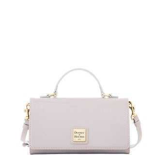 Dooney & Bourke Patent Mimi Crossbody (Introduced by Dooney & Bourke at $198 in Sep 2016) - Grey
