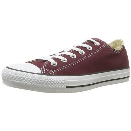 Converse Unisex Chuck Taylor Oxford, Burgundy - 11