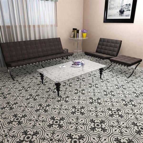 Somertile 7 75x7 75 Inch Thirties Vintage Ceramic Tile Overstock 12064591 Sample