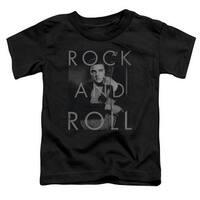 Elvis Presley Rock And Roll Little Boys Shirt