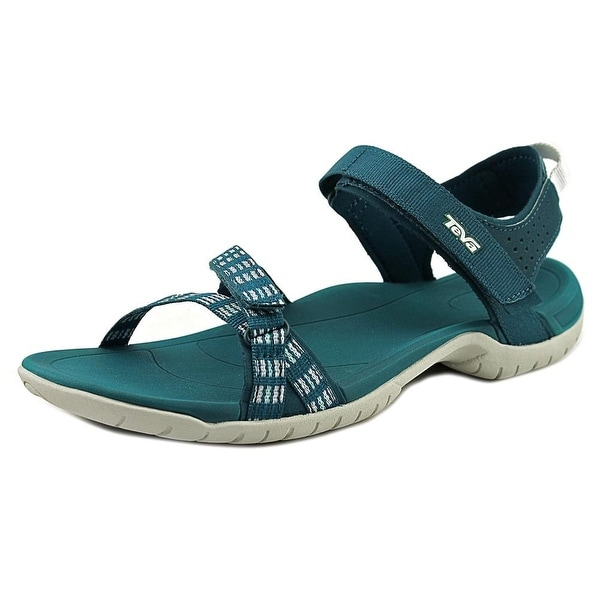 Teva Verra Women Open-Toe Synthetic Blue Sport Sandal