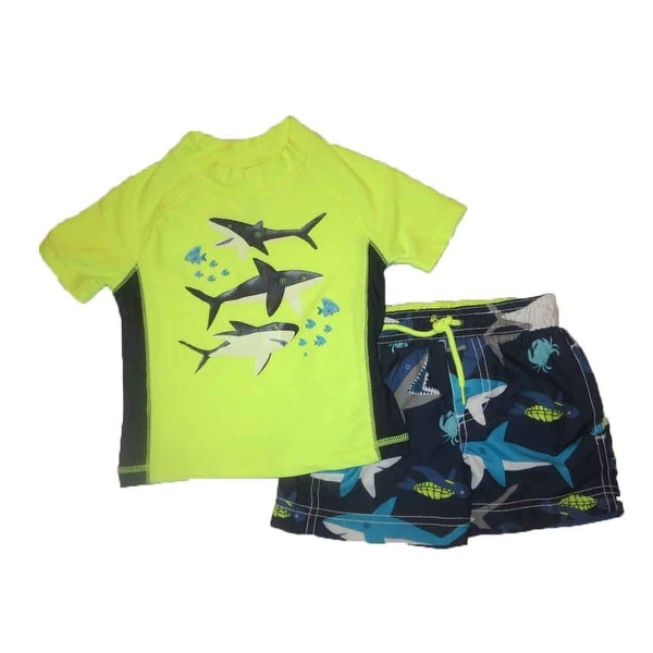 Carter's Little Boys' Toddler Two-Piece Submarine Swim Set