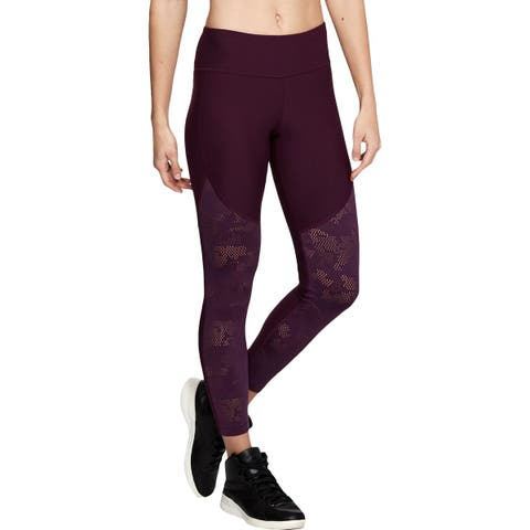 Under Armour Womens Athletic Leggings Fitness Workout - XL