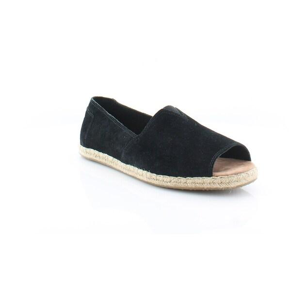 TOMS Alpargata Open Toe Women's Flats