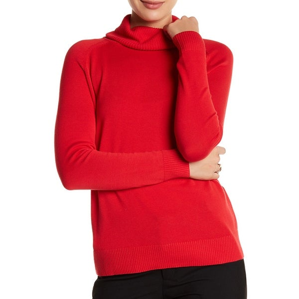 Sag Harbor Ladies Turtleneck Sweater - Free Shipping On Orders ...
