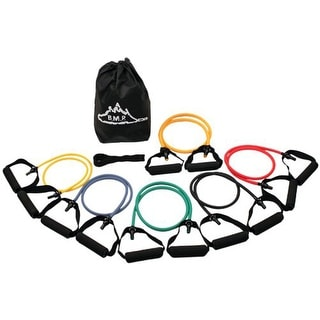 Black Mountain Products Strong Man Set of 6 Resistance Bands