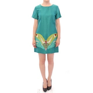 Lanre Da Silva Ajayi Green Above Knee Mini Dress - M