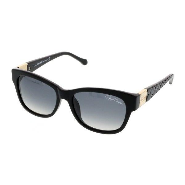 Roberto Cavalli RC 785T 01B Black Wayfarer Sunglasses - 55-16-140