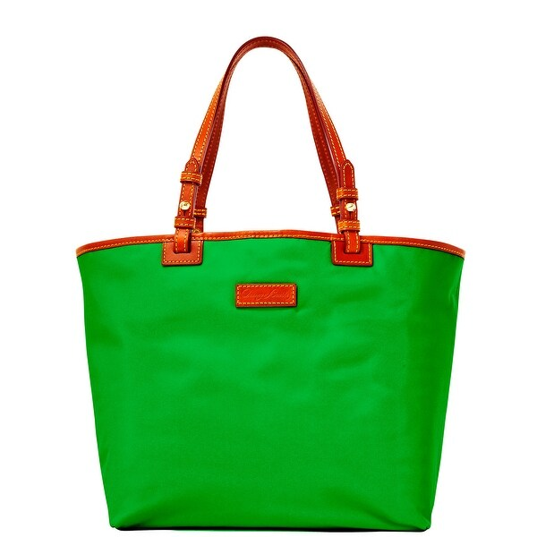Dooney & Bourke Nylon Lee Tote (Introduced by Dooney & Bourke at $168 in Feb 2014) - Green
