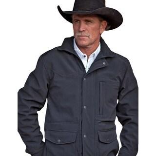 StS Ranchwear Western Jacket Mens Microfiber Brazos Gunmetal