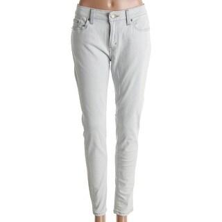 Levi's Womens Skinny Jeans Denim White Wash - 15