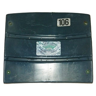 Chicago Cubs Wrigley Field Green Actual Stadium Seat Back