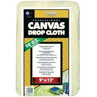 Premier 39120 GlobalGuard Heavy Weight Canvas Drop Cloth, 9' x 12'