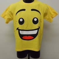 New-Minor-Flaw Lego Face Youth Medium Size 10/12 Shirt