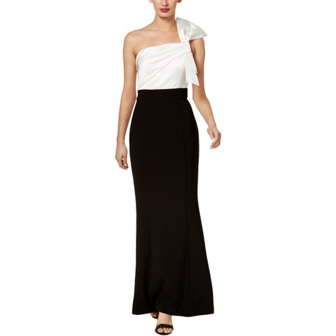 Vince Camuto Womens Special Occasion Dress One Shoulder Full-Length