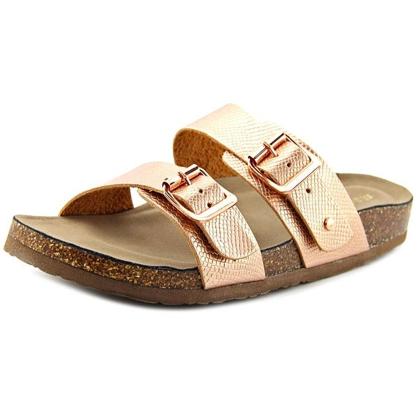 f10505b4d8fa Shop Madden Girl Brando Rose Gold Sandals - Free Shipping On Orders ...