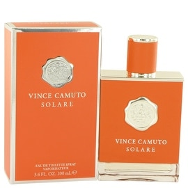 Vince Camuto Solare by Vince Camuto Eau De Toilette Spray 3.4 oz - Men