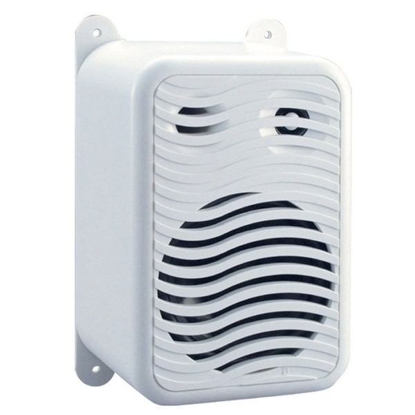 Poly-Planar Gunwale Mount Speakers - (Pair) White