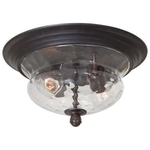 The Great Outdoors GO 8769 2 Light Flush Mount Ceiling Fixture from the Merrimack Collection