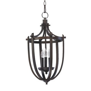 Quorum International 6729-3 3 Light Entry Fixture from the Winslet Collection