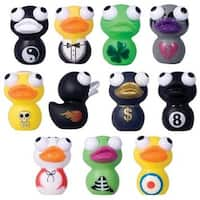 Cute Squishies * Duck Eye Poppers Set of 11