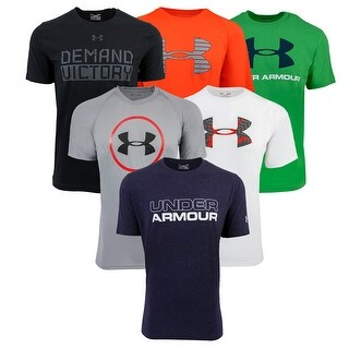 Under Armour Men's Short Sleeve T-Shirt 3-Pack - Assorted