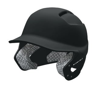 EvoShield Impact Travel Ball Batter's Helmet (Black/Junior)