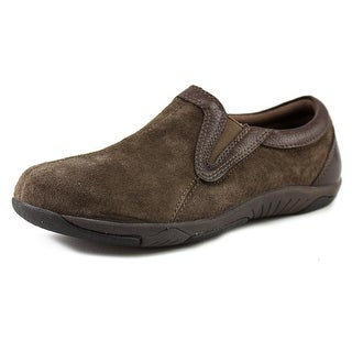 Propet Patricia Round Toe Suede Loafer