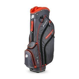 Orlimar CRX 14.9 Golf Cart Bag Charcoal/Orange
