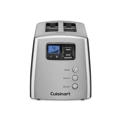 Cuisinart CPT-420 Touch to Toast Leverless 2-Slice Toaster, Stainless Steel