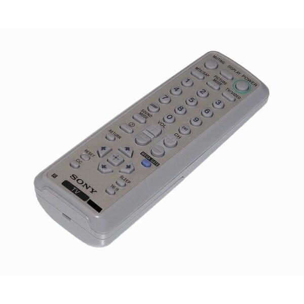 OEM Sony Remote Control: KV21FS140, KV-21FS140, KV21FT250, KV-21FT250