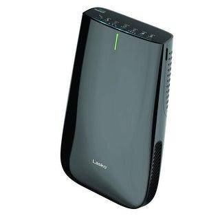 Lasko HF25630 Pure Platinum Slim Profile Air Purifier with UV Light and Remote Control - Black