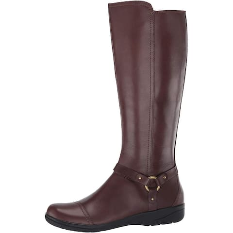 CLARKS Women's Cheyn Lindie Knee High Boot