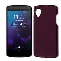 Burgundy Hard Bumper Back Case Cover Protector for LG Google Nexus 5