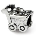 Sterling Silver Reflections Kids Shopping Cart Bead (4mm Diameter Hole) - Thumbnail 0