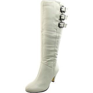 Bella Vita Transit II Women W Round Toe Synthetic White Knee High Boot
