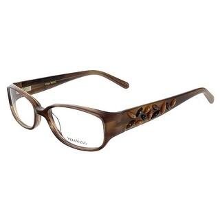 Vera Wang V 088 BR 49 Brown Full Rim Womens Optical Frame