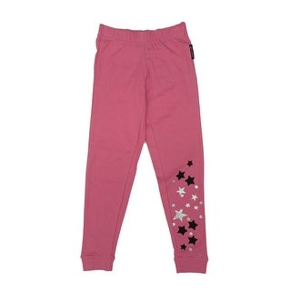 Disney Little Girls Pink Hannah Montana Star Detail Skinny Pants