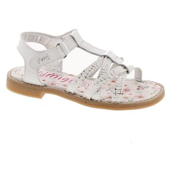 Primigi Girls 14400 Leather European Stunning Fashion Sandals - White