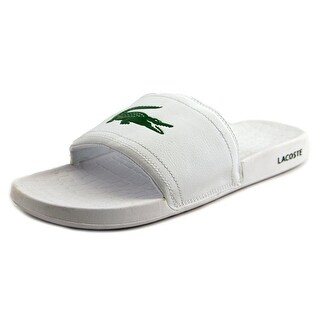 Lacoste Fraisier Men  Open Toe Synthetic White Slides Sandal