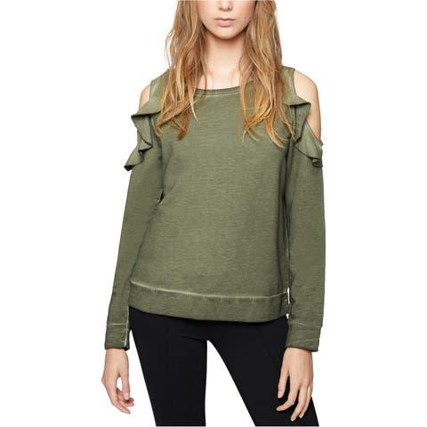 Sanctuary Clothing Womens Cold Shoulder Sweatshirt