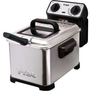 T-fal FR4049001 Family Professional Deep Fryer - Stainless Steel