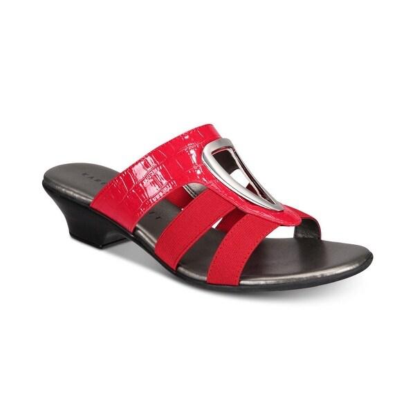Karen Scott Womens Engle Open Toe Casual Slide Sandals. Opens flyout.
