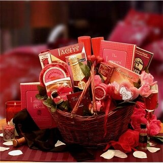 Gift Basket Drop Shipping Heart To Heart Couples Romance Gift Basket