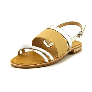 French Connection Hallie Open-Toe Synthetic Slingback Sandal
